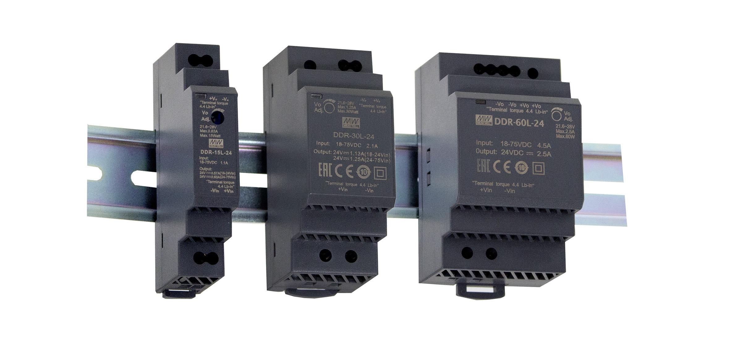 DDR 15, DDR 30 og DDR 60